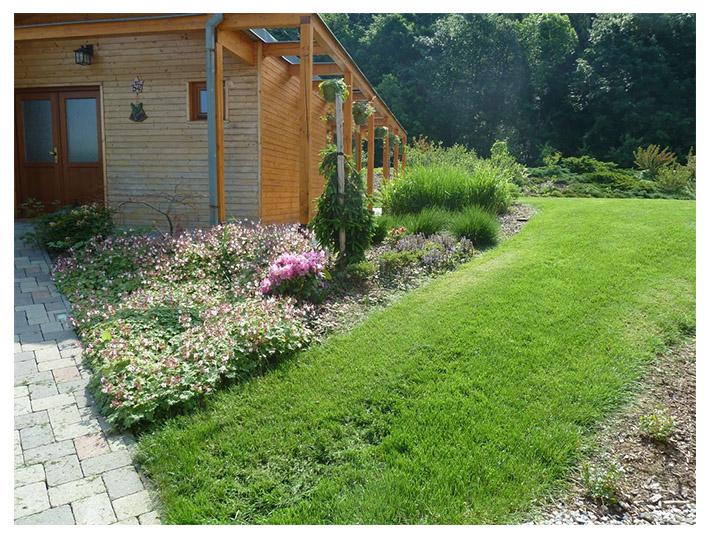 zahrada-projekce týn nad bečvou zahrada